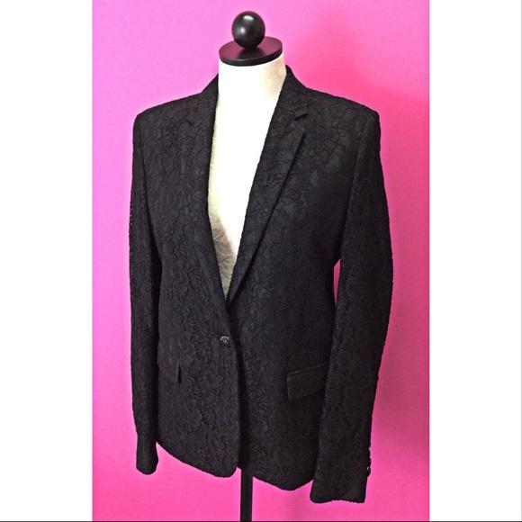 500536a50b The Kooples Jackets & Coats | 560 Floral Lace Blazer Jacket 38 Us 8 ...